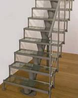Образцы стеклянных лестниц, ограждений, пандусов, фото 1