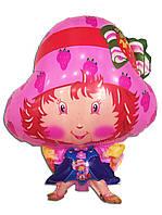 Воздушный шарик принцесса Клубничка 41 х 60 см.