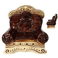 Копилка  кресло 16 см