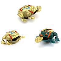 Магнит жаба феншуй с монетой (60)