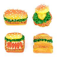 Mагнит гамбургер и хот-дог 2 (24)