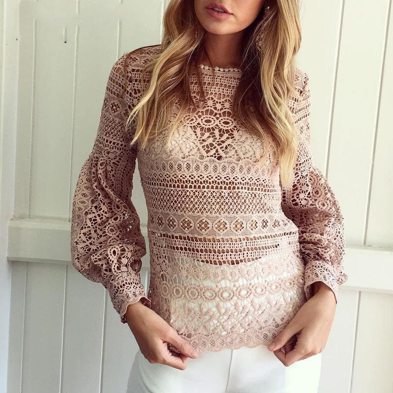 Рубашка женская стильная з хлопкового кружева🎀 в двух расцветках - Интернет -магазин товаров для c3f4f5824a1