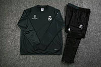 Костюм тренировочный Реал Мадрид черный