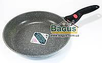 Сковорода для жарки 28 см с каменным антипригарным покрытием Fissman La Granite (AL-4627.28)