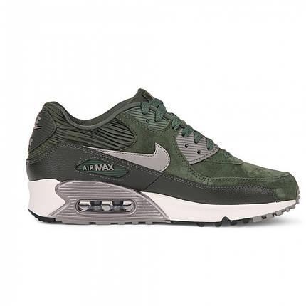 d271421c Женские кроссовки Nike Air Max 90 LTHR Carbon Green топ реплика, фото 2