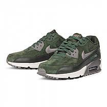 Женские кроссовки Nike Air Max 90 LTHR Carbon Green топ реплика, фото 3