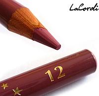 "Карандаш для губ de Luxe -""Пион"" 12"