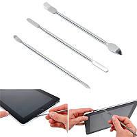 3 металлических лопатки  для разборки телефонов ноутбуков