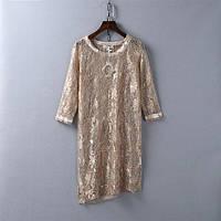 Футболка туника женская ажурная Etyu,стильная женская одежда