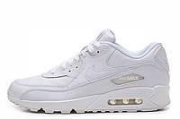 Кроссовки мужские Nike Air Max 90  (в стиле найк аир макс 90) белые