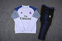 Костюм тренировочный Реал Мадрид Fly Emirates белый