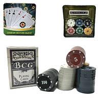 Игра покер средний квадратный  жетоны  колода карт