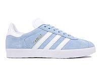 Кроссовки Adidas Gazelle Light Blue Clean Sky