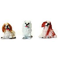 Собака кокер спаниель  и пушистик 6 см (10)