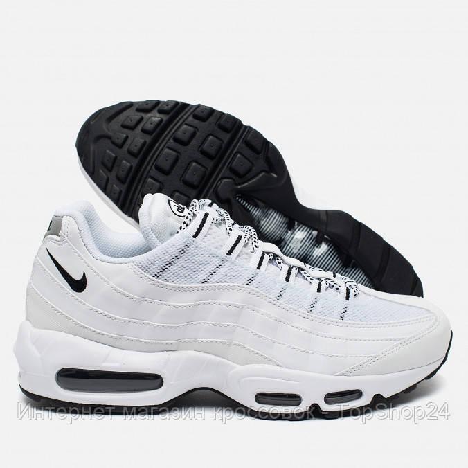 42c6b3430016 Купить Женские кроссовки Nike Air Max 95 White в интернет магазине ...