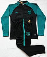 Костюм тренировочный Барселона зеленый