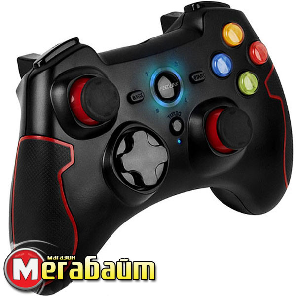 Геймпад SPEEDLINK Torid Gamepad - Wireless Black (SL-6576-BK-02)