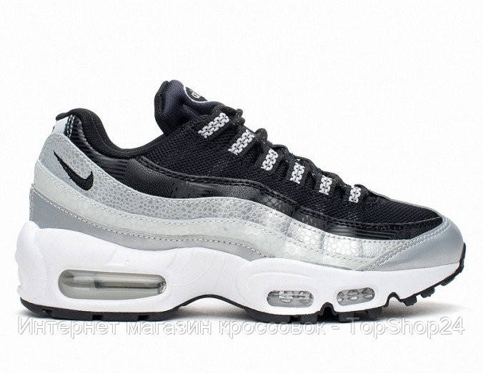Женские кроссовки Nike Air Max 95 QS Metallic Platinum