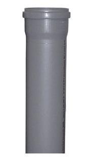 Труба канализационная ду110*1500 мм полипропиленовая