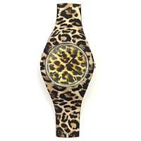 Часы наручные  женские резиновый браслет