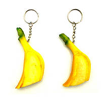 Брелки банан без шкурки натуральный (12)