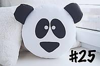 Подушка-смайлик панда #25