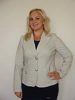 Модный женский пиджак с карманами