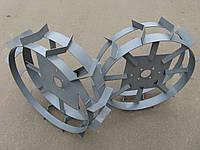 Грунтозацепы, колеса металлические с грунтозацепами D=600/155мм.