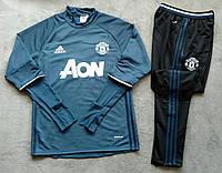 Костюм тренировочный Манчестер Юнайтед темно-синий