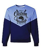 Толстовка с рисунком мужская свитшот Custom wear