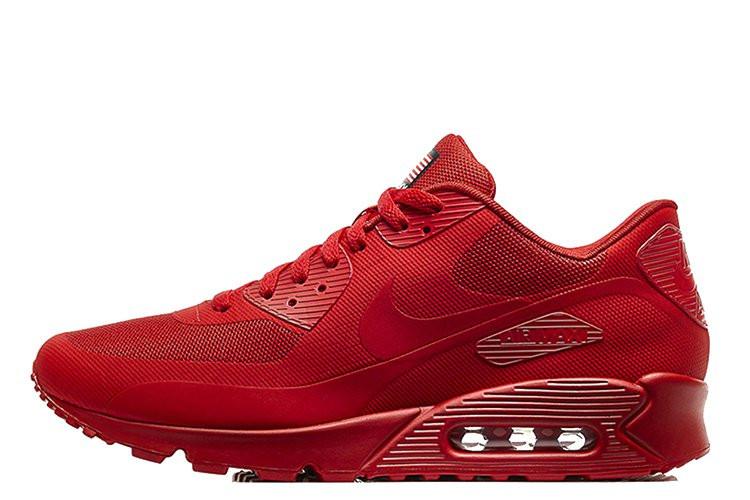 Женские кроссовки Nike Air Max 90 Hyperfuse USA красные - Обувь и одежда с  доставкой по 6519c7df77b