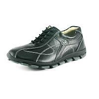 Кроссовки женские с натуральной кожи Comfort 728 черный