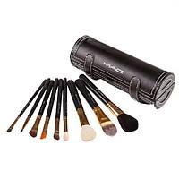 Набор кистей для макияжа 9 шт - Make Up Me MAC (реплика) MAC-9-TUBE - MAC9-TUBE
