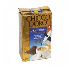Кава мелена Chicco D'oro Decaffeinato 250г без кофеїну