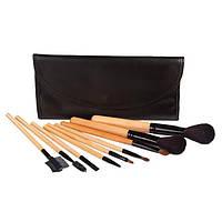 Домашний набор кистей для макияжа 9 шт - Make Up Me YG-9 Черный - YG9