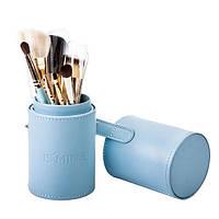 Набор кистей для макияжа 7 шт - Make Up Me TUBE-7-BLUE Голубой - TUBE-7-BLUE
