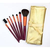 Набор кистей для макияжа 7 шт - Make Up Me GOLD-7 Золото - GOLD7