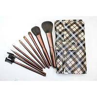 Набор кистей для макияжа 9 шт - Make Up Me GB-9 Клетка - GB9