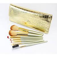 Набор кистей для макияжа 7 шт - Make Up Me GD-7 Золотая Кожа - GD7