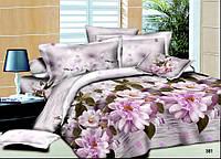 Полуторный набор постельного белья Ранфорс platinum №2005