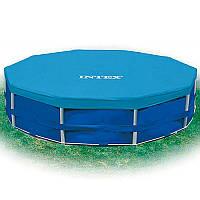 Тент для круглых каркасных бассейнов 28031, диаметр 366см, в кор-ке, 30,5-27-10см