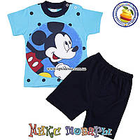 Костюм с шортами Микки Маус для мальчика Возраст: 9-12-18 месяцев (5175-3)