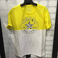 ФУТБОЛКА COLORBLOCK CP LOGO EASY CREW TEE YELLOW 10003592-720