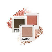 Мерцающие тени для век Tony Moly Eyetone Single Shadow Shimmer #S05 Latte Brown - EM04042200