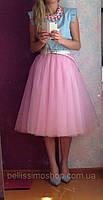 Фатиновая юбка 60-65см