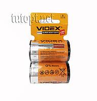 Батарейка солевая Videx 1.5 V R20P(D) упаковка - 24шт.