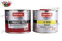 Антикоррозионный эпоксидный грунт NOVOL Protect 360 + отвердитель H5950 400мл