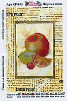"""Схема для вышивания бисером """"Цитрусы и вишня"""""""