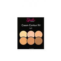 Набор для контуринга лица - Sleek Makeup Cream Countur Kit Light # 96130490 - 96130490