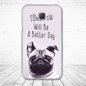 Силіконовий чохол для Samsung Galaxy J5 J500h з картинкою tomorrow will be a better day